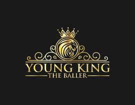 "#177 untuk Logo for ""Young King the Baller"" oleh mehboob862226"
