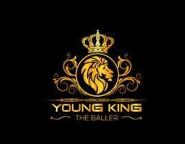 """#210 untuk Logo for """"Young King the Baller"""" oleh ndrobiulislam194"""