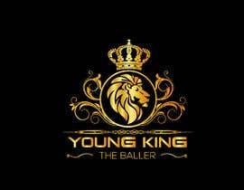 """#212 untuk Logo for """"Young King the Baller"""" oleh ndrobiulislam194"""