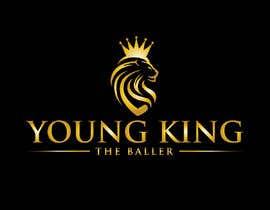 """#248 untuk Logo for """"Young King the Baller"""" oleh mazharul479m"""