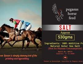 nº 51 pour Design a label for horse salt par Mujahith369