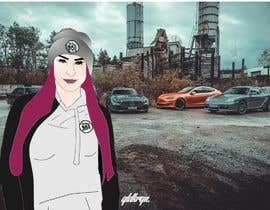 #31 para Picture design, Cut out a person of a picture, paste in the other picture and make it look like a cartoon. por Ahagraphicsbrand