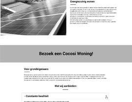 #62 for Web design for single page website by azahermia
