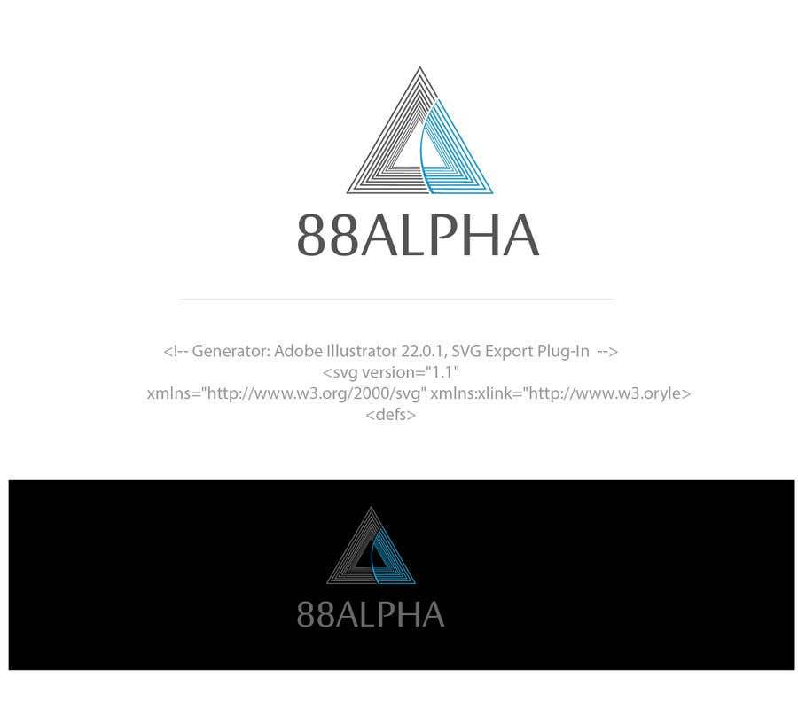 Contest Entry #                                        1339                                      for                                         LOGO Design - 88ALPHA - Hospitality Management Company