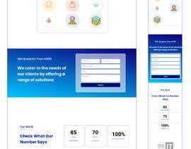 #164 for Design a Logo Designing Service Single Basic Landing page af jitupv
