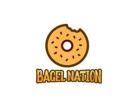 #174 for Design a logo for a new bagel shop by Tituaslam
