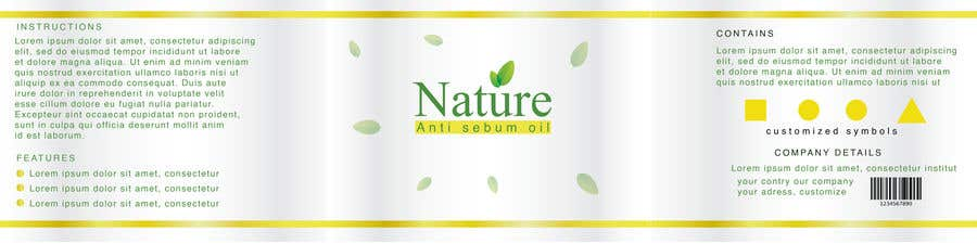 Contest Entry #                                        88                                      for                                         Label for a cosmetic product