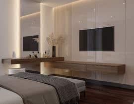 Sheybani tarafından Hotel Room 3D Rendering için no 35