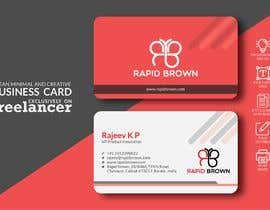 #243 para Require a Business card ,  letter head and envelope  for my company named Rapid brown, por DesignerSadekul