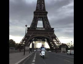 #8 for Put me with my vespa in front of the eiffel tower by anggunchrissara