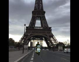 #9 for Put me with my vespa in front of the eiffel tower by aymangigo