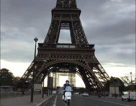 #6 for Put me with my vespa in front of the eiffel tower by ars31562