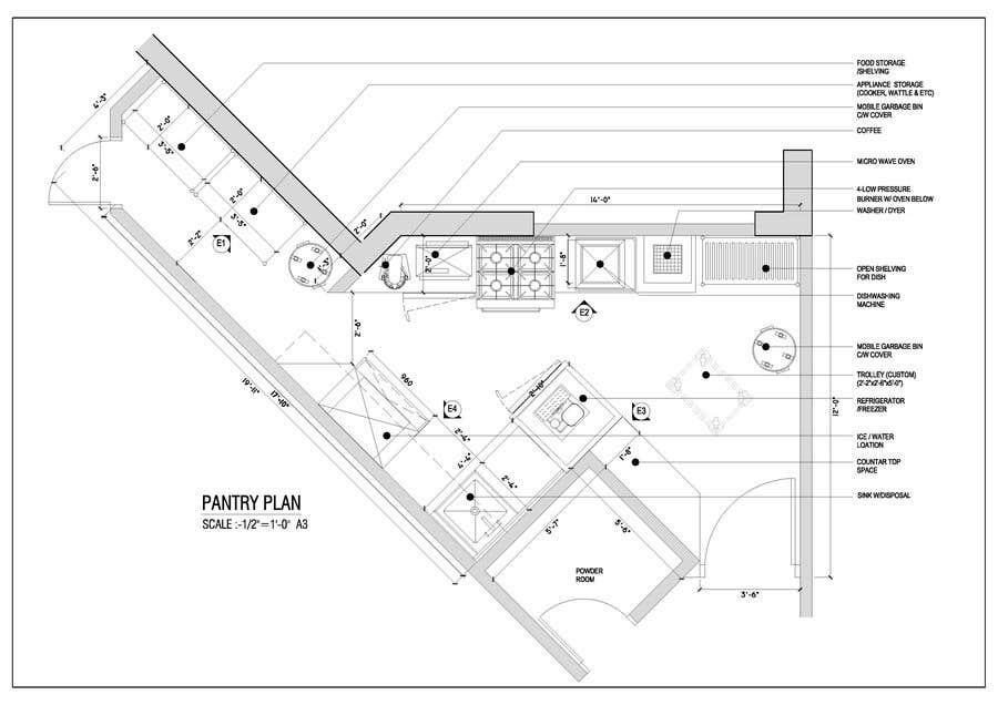 Penyertaan Peraduan #                                        37                                      untuk                                         High End Scullery/Pantry Design