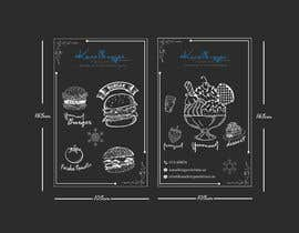 nº 41 pour Design window foil for our restaurant par farhanamisty