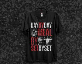 #47 for Design a tee-shirt - Day by Day - Meal by Meal -Set By Set by ShahriarSimon