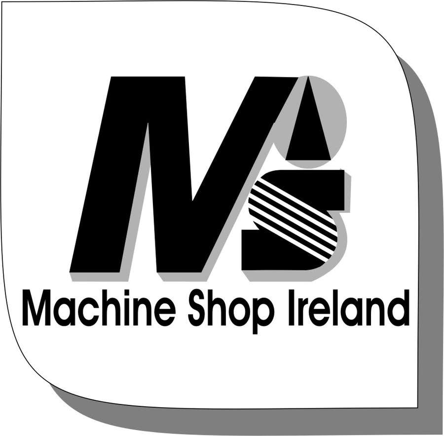 Entri Kontes #                                        24                                      untuk                                        Design a Logo for Machine Shop Ireland.