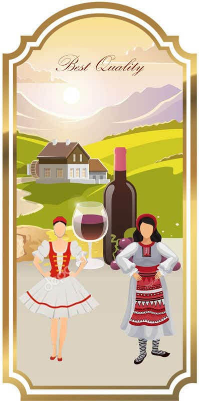 Contest Entry #                                        21                                      for                                         4 wine labels for regional wine in W Romania