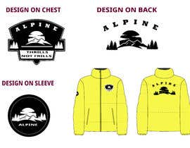 #24 for I need someone who can create a design which will be printed / embroidered onto a jacket af Namie1260