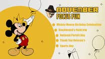Graphic Design Entri Peraduan #48 for November theme front 2020