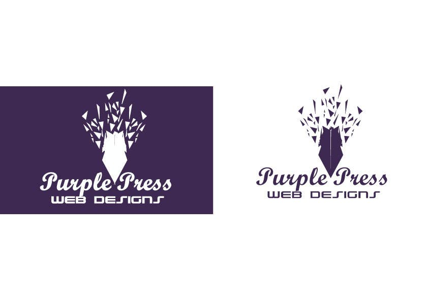 Entri Kontes #45 untukDesign a Logo for Purple Press