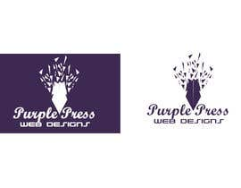 #45 untuk Design a Logo for Purple Press oleh qazishaikh
