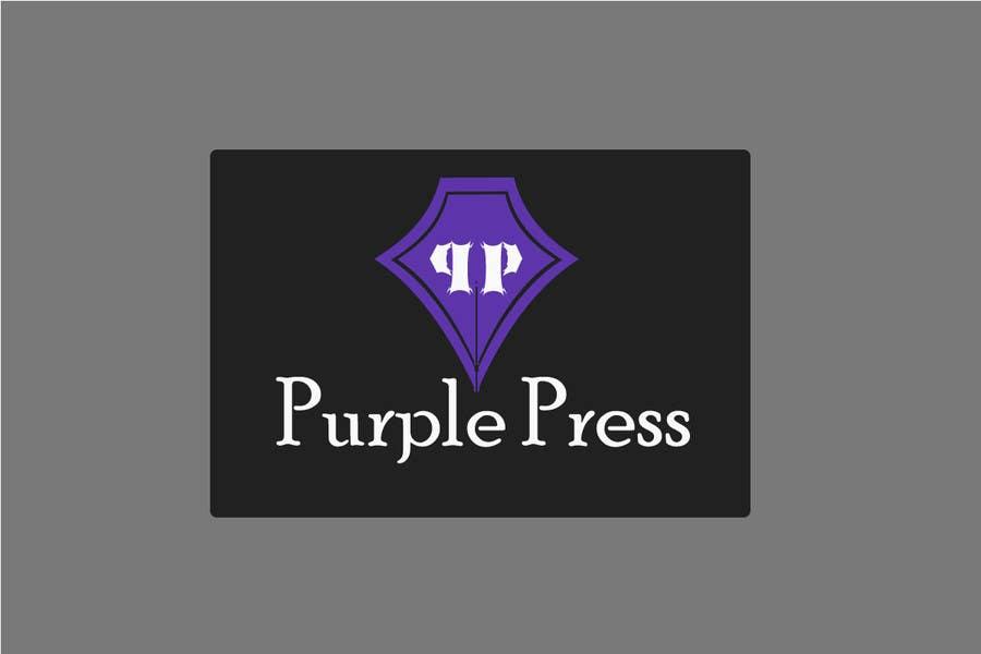 Konkurrenceindlæg #                                        32                                      for                                         Design a Logo for Purple Press