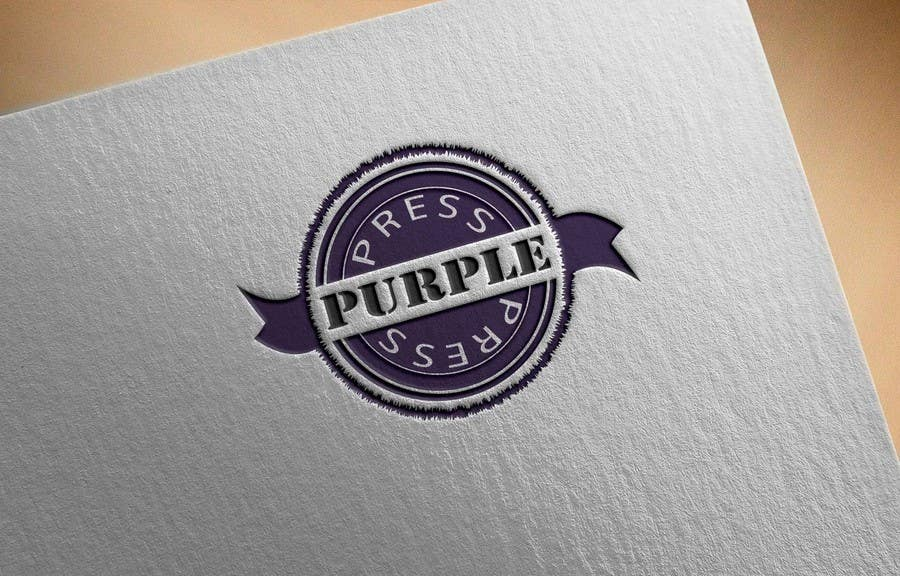 Entri Kontes #34 untukDesign a Logo for Purple Press