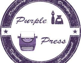 #43 untuk Design a Logo for Purple Press oleh obayomy