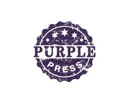 #36 för Design a Logo for Purple Press av rangathusith