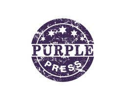 #38 för Design a Logo for Purple Press av rangathusith