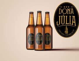 Nro 54 kilpailuun Logotipo for craft beer brand - DONA JÚLIA käyttäjältä mvd41