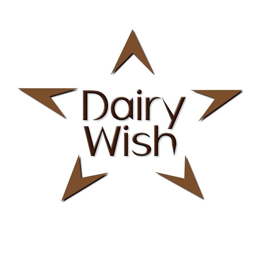Kilpailutyö #358 kilpailussa Logo Design for 'Dairy Wish' Chocolate brand