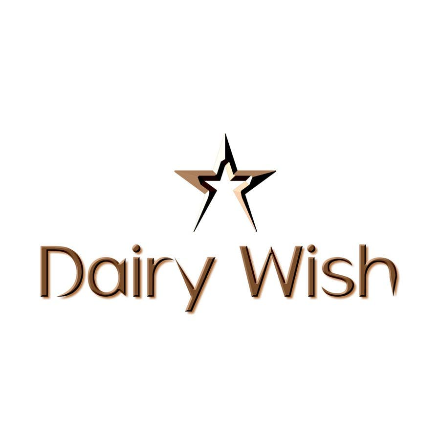 Entri Kontes #                                        182                                      untuk                                        Logo Design for 'Dairy Wish' Chocolate brand
