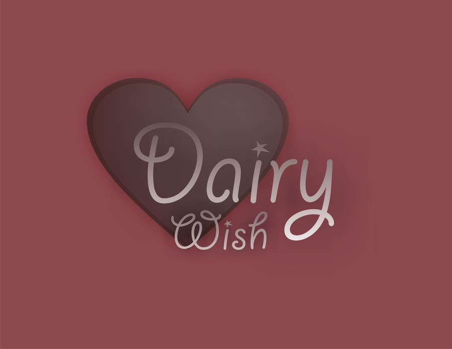 Entri Kontes #                                        413                                      untuk                                        Logo Design for 'Dairy Wish' Chocolate brand