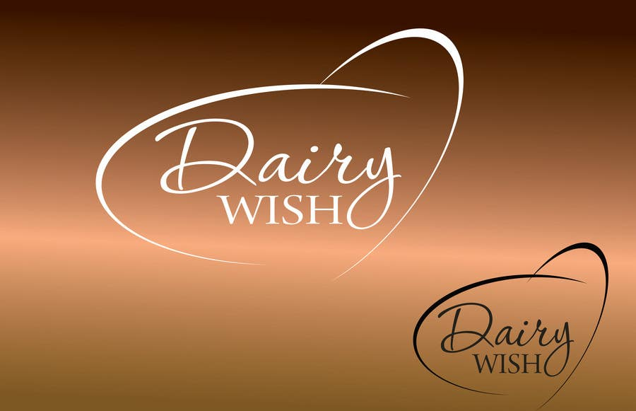 Entri Kontes #                                        316                                      untuk                                        Logo Design for 'Dairy Wish' Chocolate brand