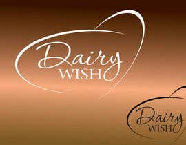 #316 para Logo Design for 'Dairy Wish' Chocolate brand por AdartIndia