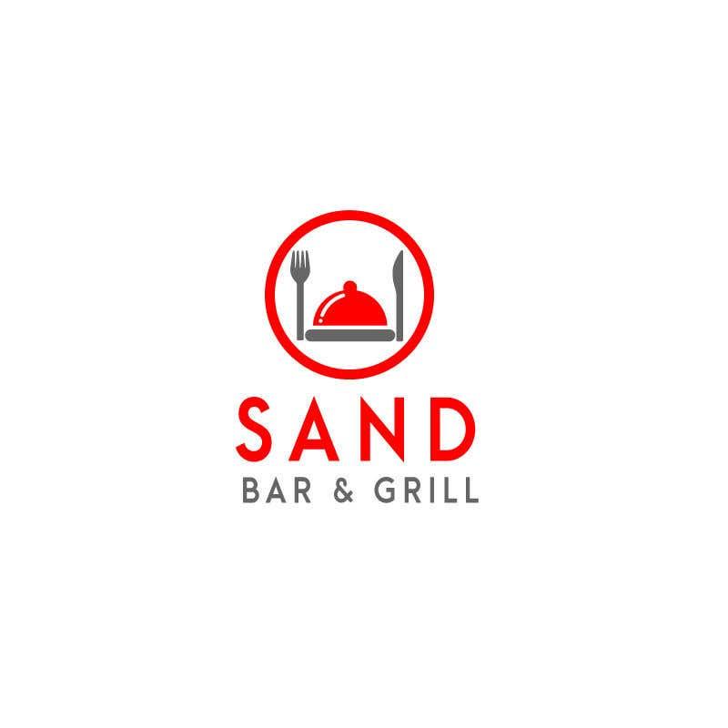 Konkurrenceindlæg #                                        208                                      for                                         Logo for Sand Bar & Grill - Menu Redesign