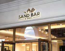 #108 for Logo for Sand Bar & Grill - Menu Redesign af mazharul479m