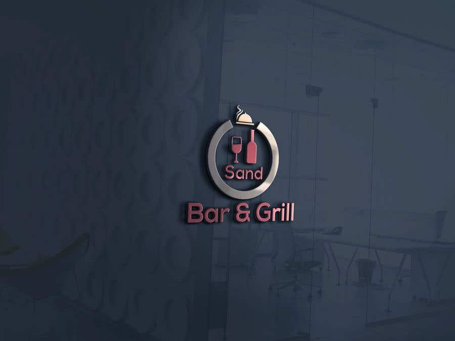 Konkurrenceindlæg #                                        201                                      for                                         Logo for Sand Bar & Grill - Menu Redesign