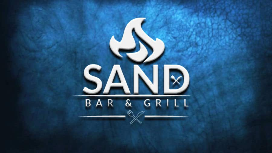 Konkurrenceindlæg #                                        50                                      for                                         Logo for Sand Bar & Grill - Menu Redesign