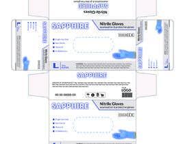 #71 untuk Nitrile Gloves Box packaging oleh MDJillur