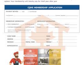 Nro 8 kilpailuun CQHS Registration Form käyttäjältä MrMARUF1