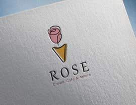 #1512 untuk ice cream café logo design oleh khaleil