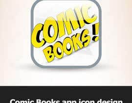 #14 cho Icon or Button Design for iOS comic book icon bởi dirav
