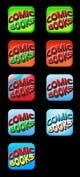 Miniatura da Inscrição nº                                                 52                                              do Concurso para                                                 Icon or Button Design for iOS comic book icon
