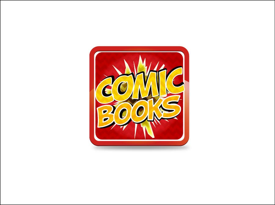 Konkurrenceindlæg #                                        49                                      for                                         Icon or Button Design for iOS comic book icon
