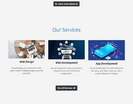 #39 for it website design af Zarifprogrammer
