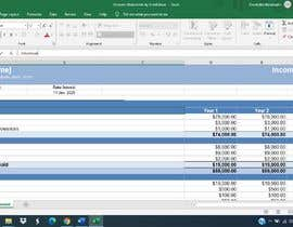 #41 for Create A Month-End Financial Statement Template In Google Sheets af RiaNandwani