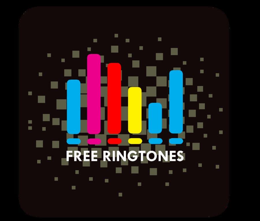 Proposition n°                                        5                                      du concours                                         App Design for Ringtones App Icon