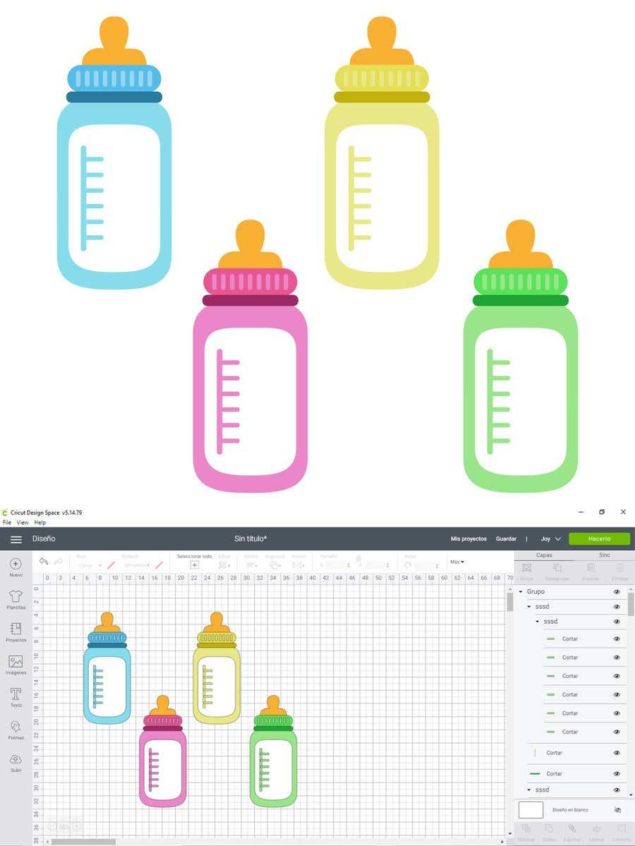 Kilpailutyö #                                        24                                      kilpailussa                                         Original Clipart Design, Baby Clipart
